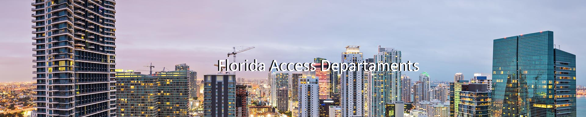 florida Access Departament