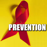 red ribbon depictin prevention